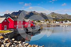 Norway Lofoten Landscape
