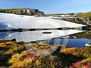 Norway Mountain Scenery Scenic Road