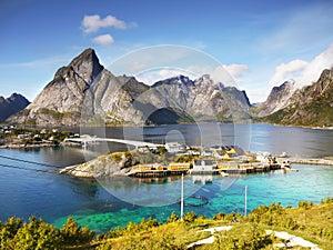 Norwegian Landscape, Nordic Fjords, Norway