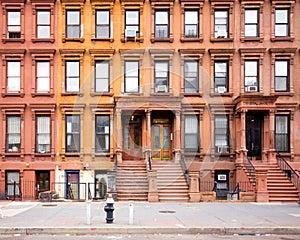 NYC Harlem Brownstones