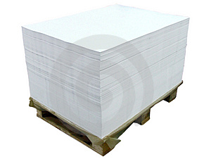 Offset paper sheets