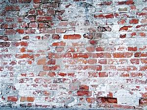 Old grungy brick wall