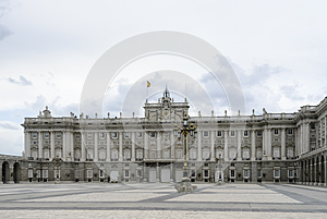 Palace Real de Madrid , Spain