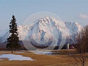 Pioneer Peak in Alaska