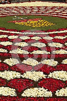 Porticciolo di Diano, Italia - 10 giugno 2007: Infiorata Lig