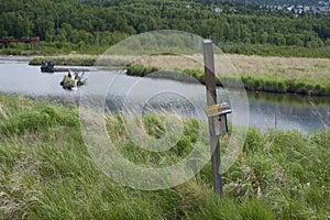 Potter Marsh Wildlife Refuge Anchorage Alaska