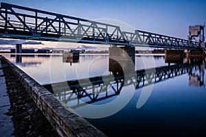Railroad bridge, Aalborg