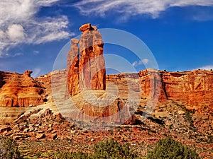 Red Rocks, Arches National Park, Utah