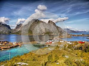 Reine Lofoten Island Norway