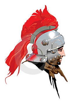 Roman Soldier (Centurion) Illustration 2 : Dreamstime