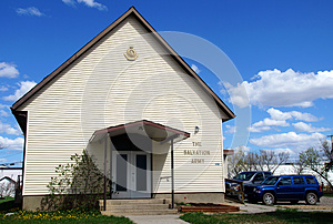Salvation Army Church Alaska Highway