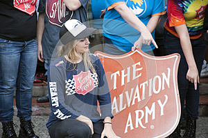 Salvation Army Volunteers