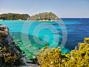 Scenic Coast, Paxos Island, Travel Greece
