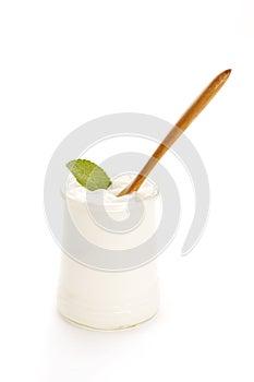 Schüssel Joghurt