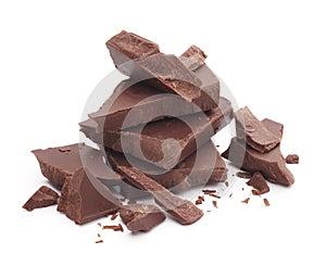 Schokoladenteile
