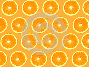 Seamless Oranges background