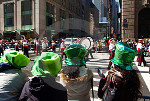 The St. Patrick Day Parade