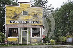 Stewart Hyder Alaska Canada Village Store