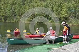 Summer Family Fun Day Reflections Lake Alaska
