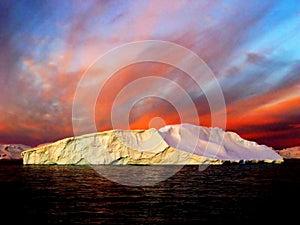 Sunrise, Antarctica - Stock Photos Antarctica Tourists Locations