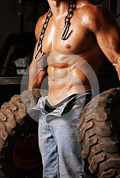 Sweaty Mechanic