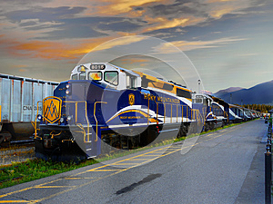 Train Travel Canada