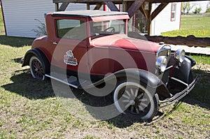Vintage Auto Alaska Highway