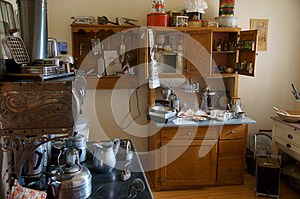 Vintage Kitchen Alaska Highway