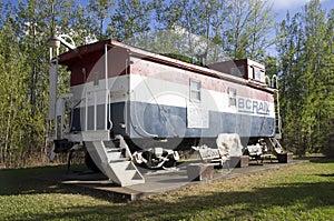 Vintage Railroad Caboose