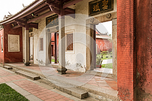 Wall of Chinese Style House