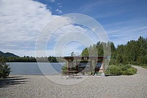 Wood Lake Information Sign