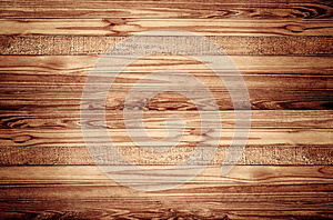 Wood texture background with vignette