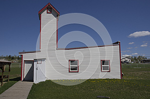 WWII Vintage Fire House
