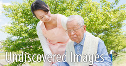 undiscovered images - Japanese caregivers and senior in the field caregiver