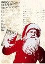 ¡Santa dice SÍ! Fotografía de archivo