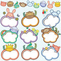 Animal Cloud Frames Set 1