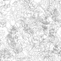stock image of  Pattern from plants
