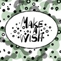stock image of  Make a wish