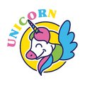 Unicorn kid print