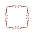 Ð¡alligraphic frames .Vintage .Well built for easy editing.Vector illustration.
