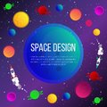 stock image of  Space illustration,
