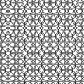 Seamless pattern. Background texture in geometric ornamental style.