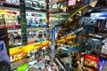 à l intérieur de la plaza de pantip les bigges Photographie stock libre de droits