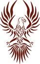 Águila, vector Imagenes de archivo