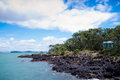 Île Nouvelle Zélande de Rangitoto Photos stock