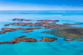 Îles de l'Australie Photo stock
