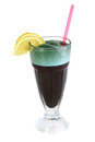 Ð¡ocktail from spirulina Stock Photography