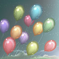 Ð¡olorful balloons Royalty Free Stock Images