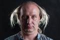 image photo : сrazy man