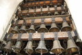 Сalling church bells. Royalty Free Stock Photo